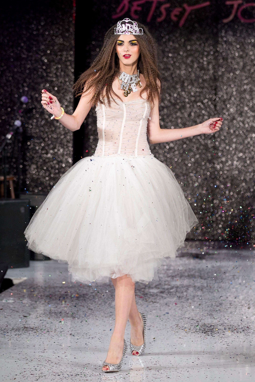 Contemporary Betsey Johnson Party Dress Ensign - Wedding Dress Ideas ...
