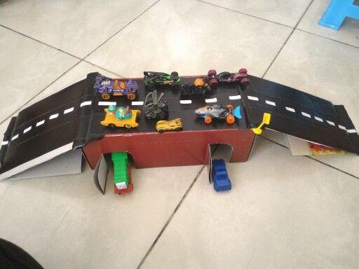 Membuat Miniatur Jalan Raya Dari Kardus Bekas Meningkatkan