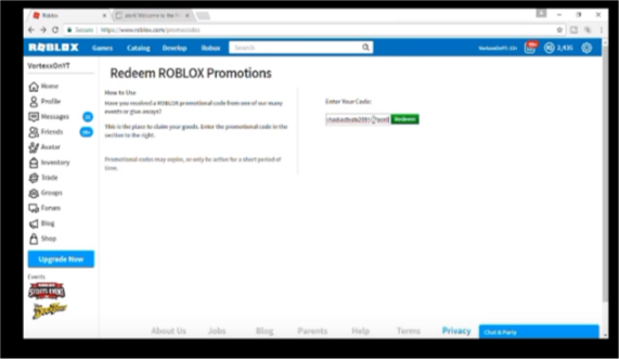 roblox hack robux promo code
