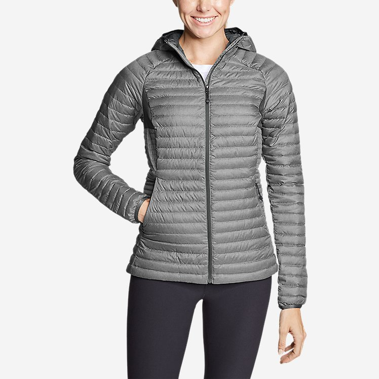 Women's Microtherm® 2.0 Down Hooded Jacket Eddie Bauer