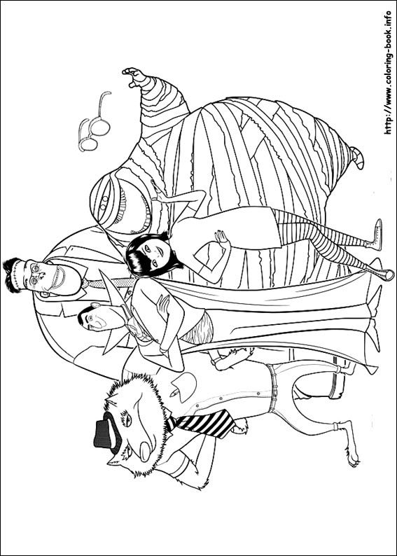 Hotel Transylvania Coloring Pages Google Search