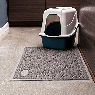 Phthalate Free Cat Litter Mat Patented Design With Litter Lock Mesh Extra Large Durable Repels Liquids And Odors Cat Litter Mat Litter Mat Cat Litter