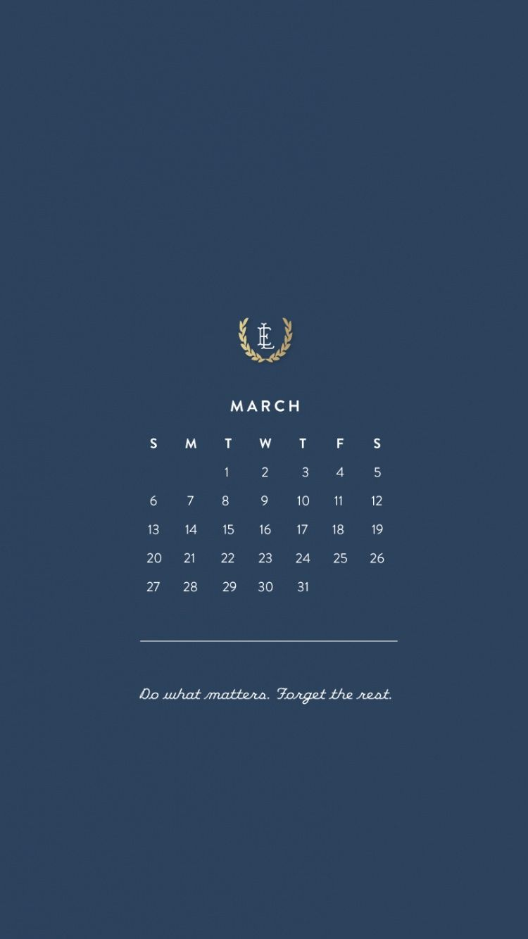 March Calendar Wallpaper Hd : March iphone hd calendar wallpapers tap to see more