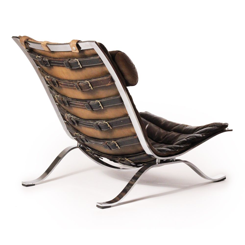 Ari Lounge Chair 1966 Designed Arne Norell Maker