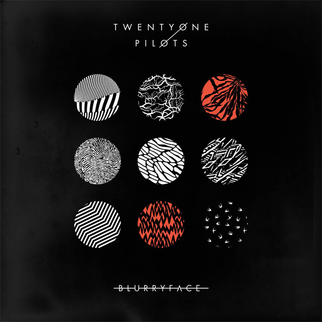 Image result for Twenty One Pilots album covers
