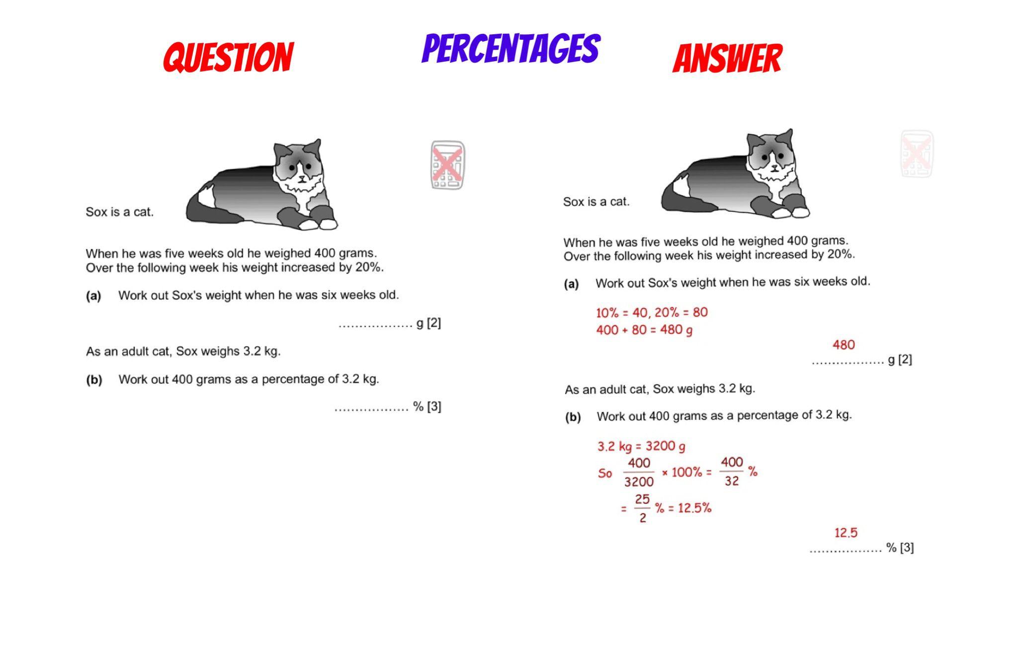Gcse Revision Percentages Gcse Revision