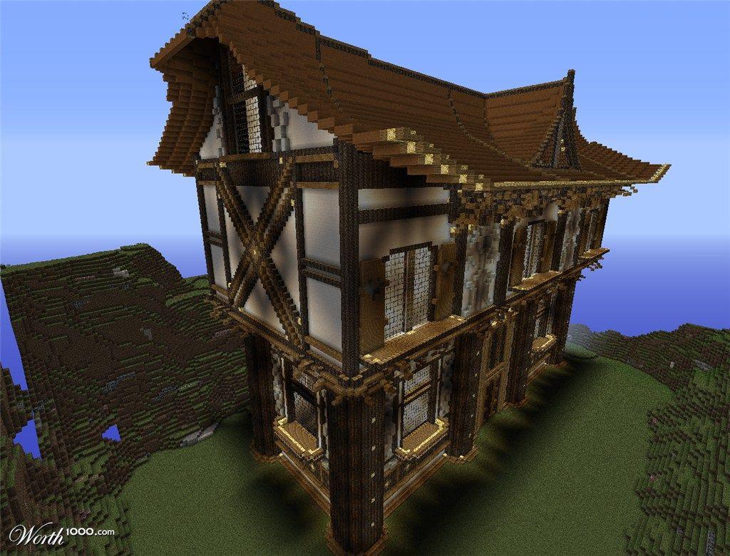 Minecraft epic house google zoeken