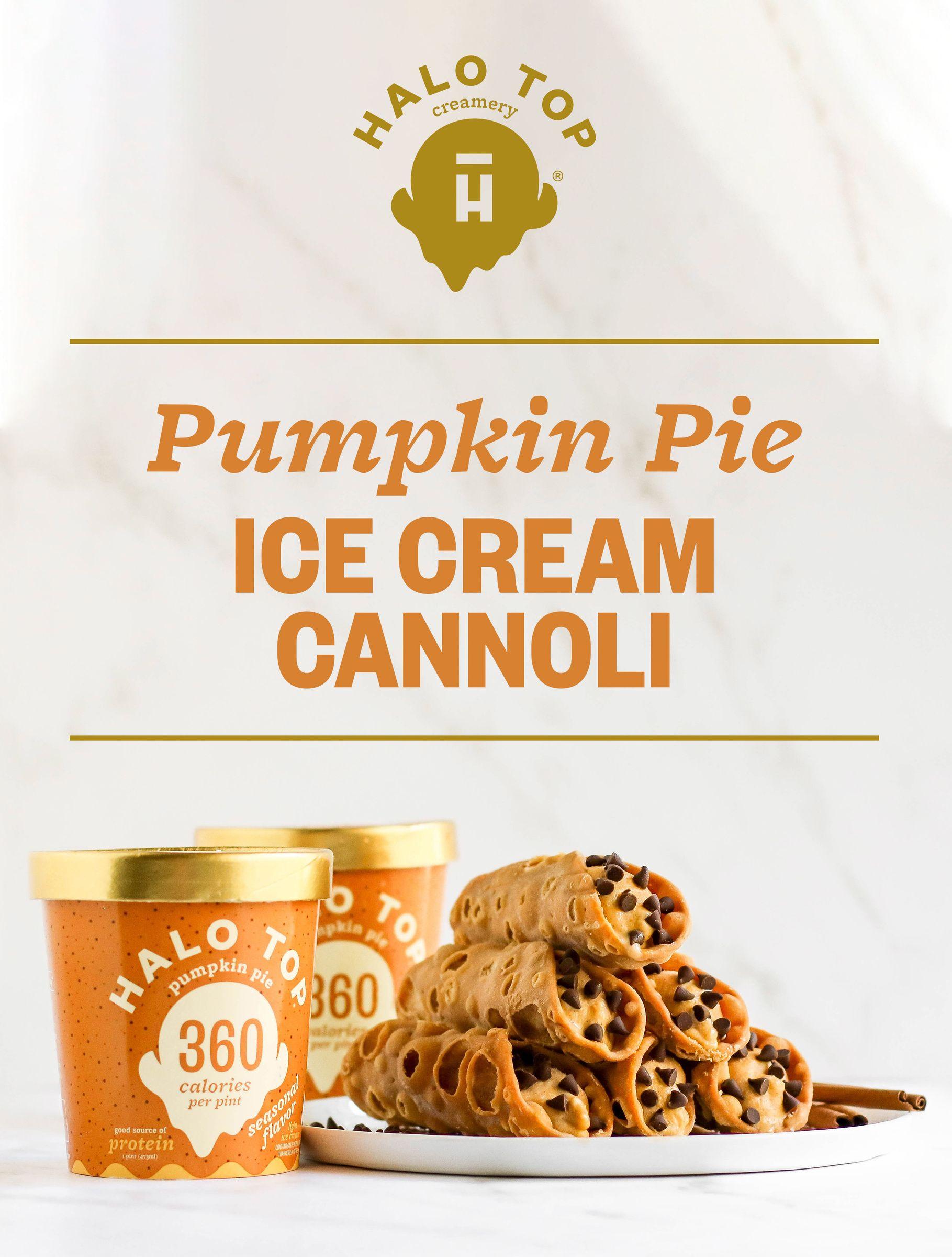 Pumpkin Pie Cannolis Recipe Pumpkin Pie Pumpkin Pie Ice Cream Recipes