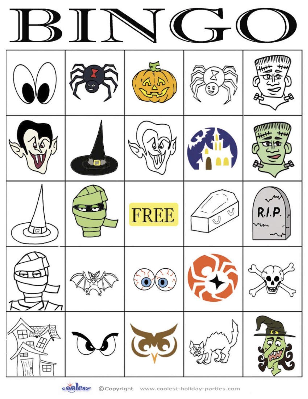 Halloween Bingo 5 5