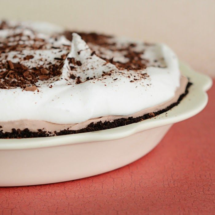 The Creamiest Triple Layer Chocolate Pie