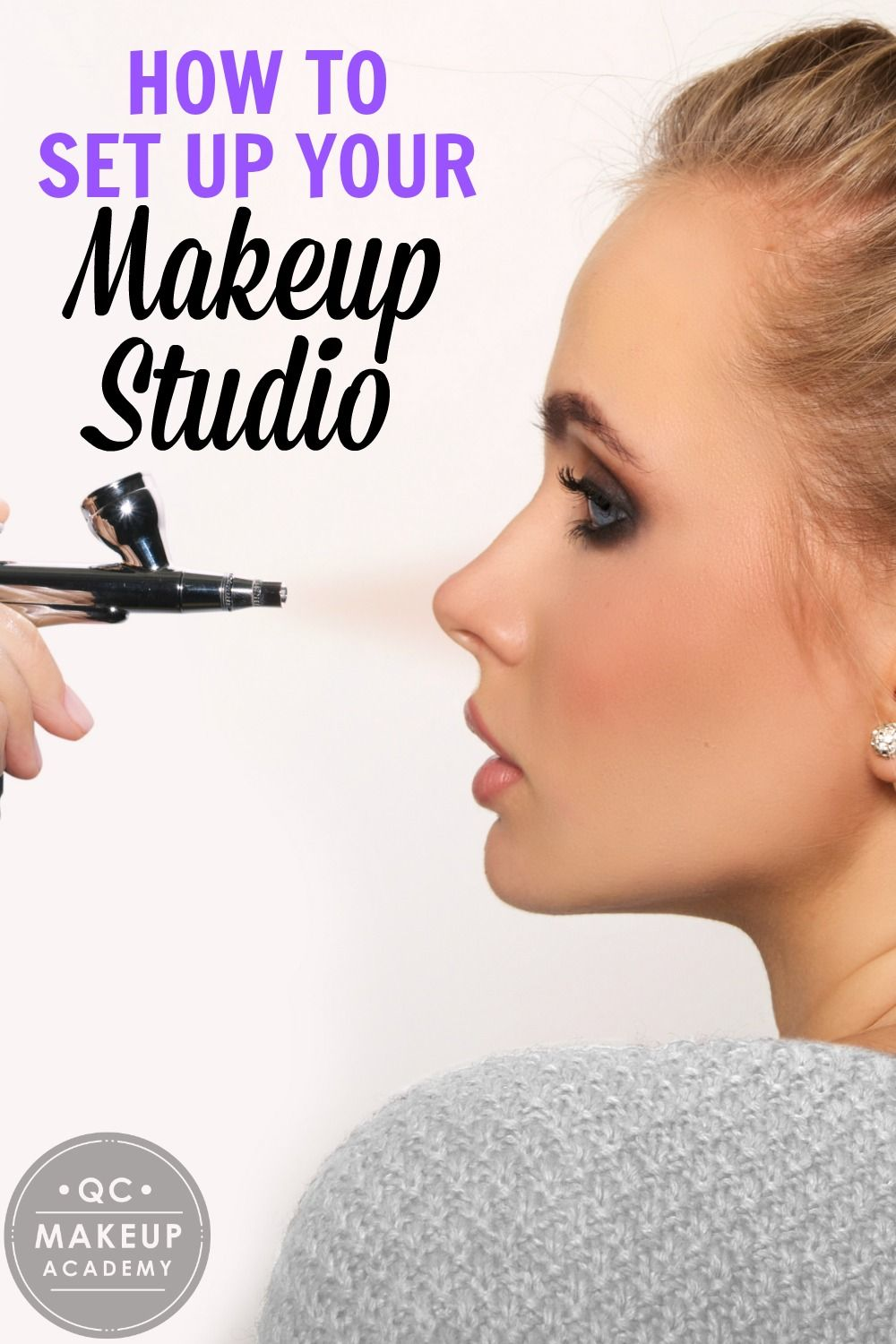 Learn How To Create A Fabulous Makeup Studio And Improve Your Makeup Artistry Qcmakeupacademy Makeup Makeupartist Learnmakeup Makeup Studio Makeup Academy Becoming A Makeup Artist