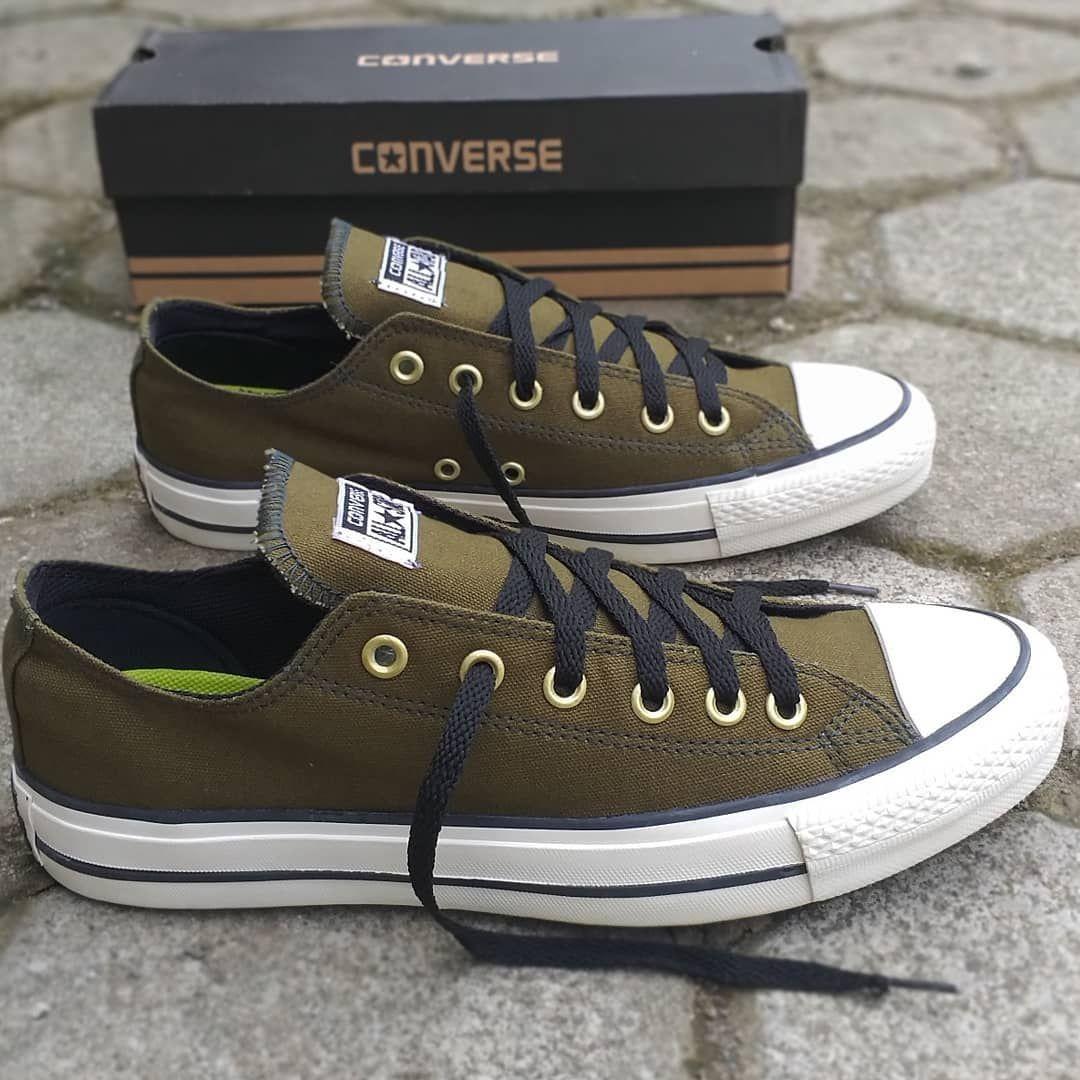 Dijamin Cakep Sepatu Yg Satu Ini Converse Allstar Green Army Size