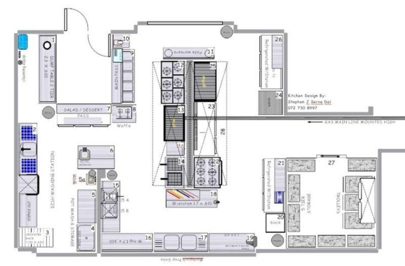 Free Blueprint For Restaurants Kitchen restaurant Pinterest - fresh blueprint 3 commercial