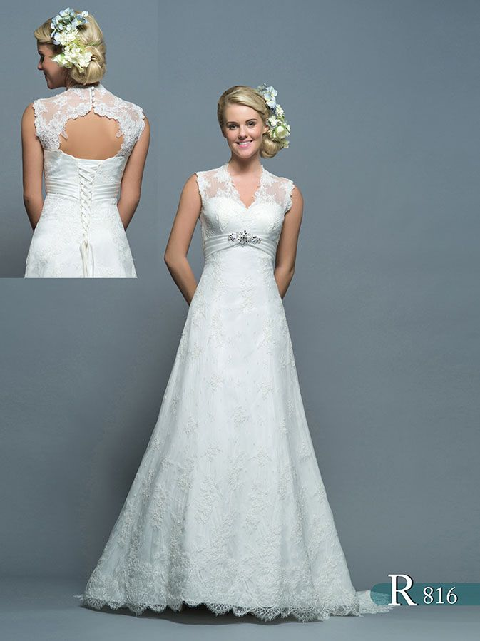 R816- ROSETTA. The back is the really show stopper on this gown! The ...