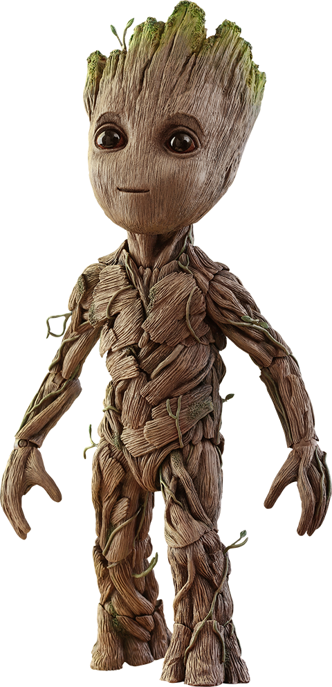Marvel Groot Sixth Scale Figure By Hot Toys Sideshow