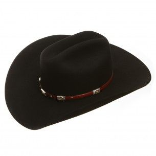 b9410ad2c68 Milano Alamo Felt Black Cowboy Hat | Cowboy Hats | Black cowboy hat ...