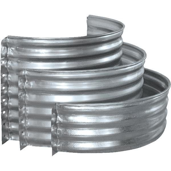 Variety Of Galvanized Fire Pit Rings Fire Pit Ring Steel Fire Pit Ring Fire Pit Landscaping