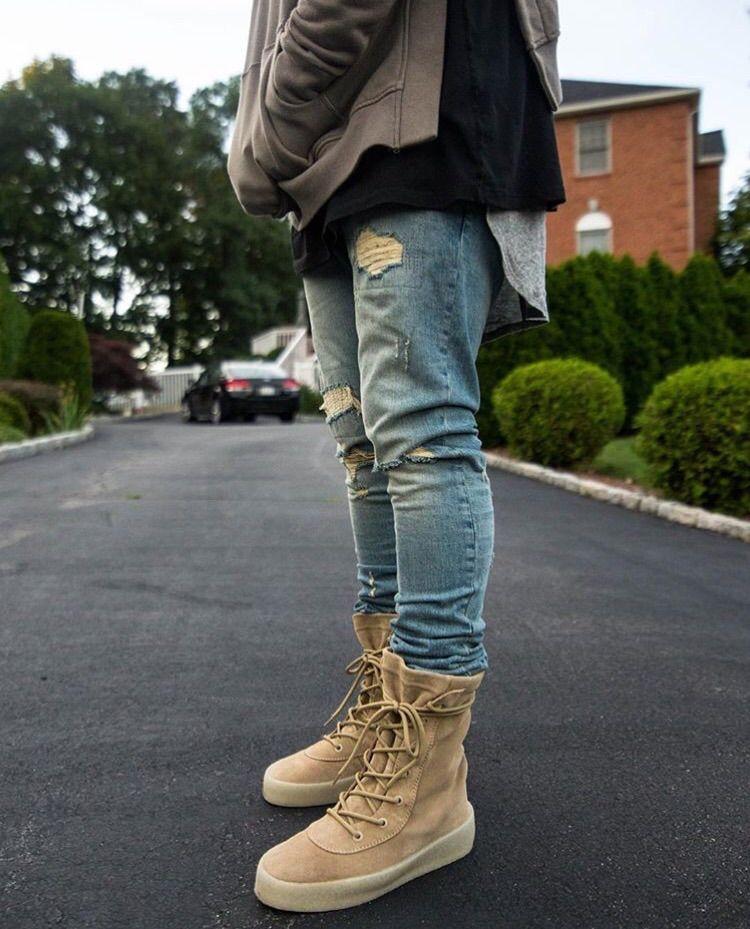 e70f2dfbc Yeezy Season 2 Crepe Boots outfits