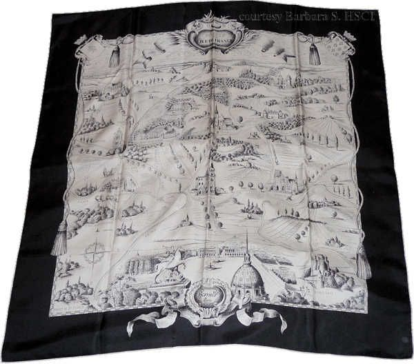 "Forets en l'Ile-de-France (from <a href=""http://piwigo.hermesscarf.com/picture?/2264/category/137-black"">HSCI Hermes Scarf Photo Catalogue</a>)"