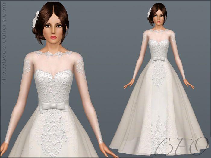 sims 3 vestido de novia