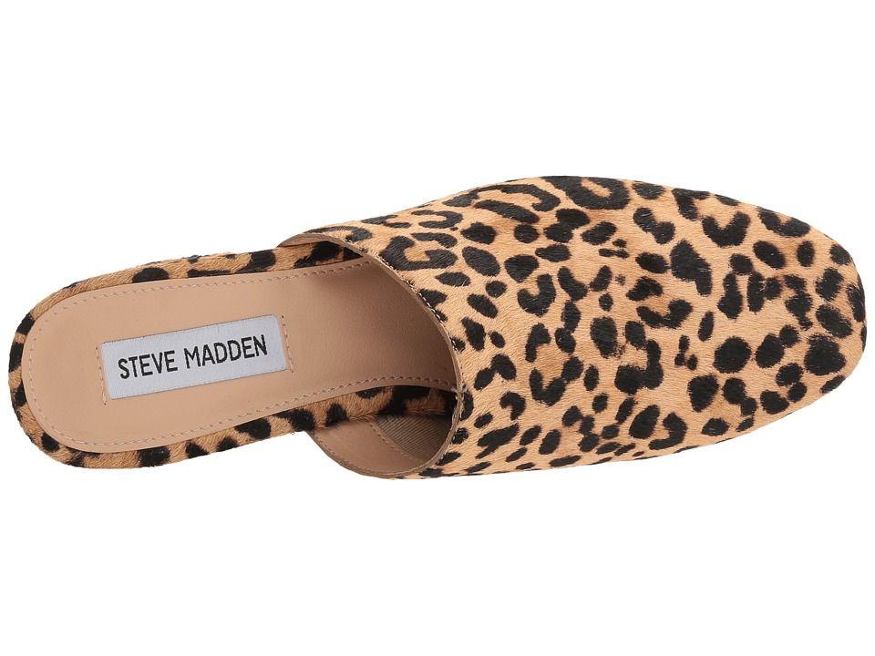 49031d58c614 Steve Madden Notch-L Women's Clog/Mule Shoes Leopard | Products ...
