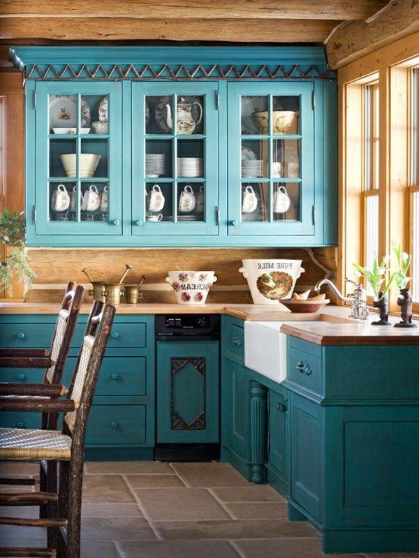 Photo of 160 neue Küchenideen: Blaue und grüne Farbe – Archzine.net