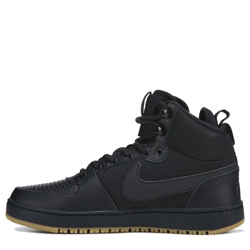 354bb83f4 Nike Men's Ebernon Winter Mid Top Sneakers (Black/Gum) Air Force Sneakers,