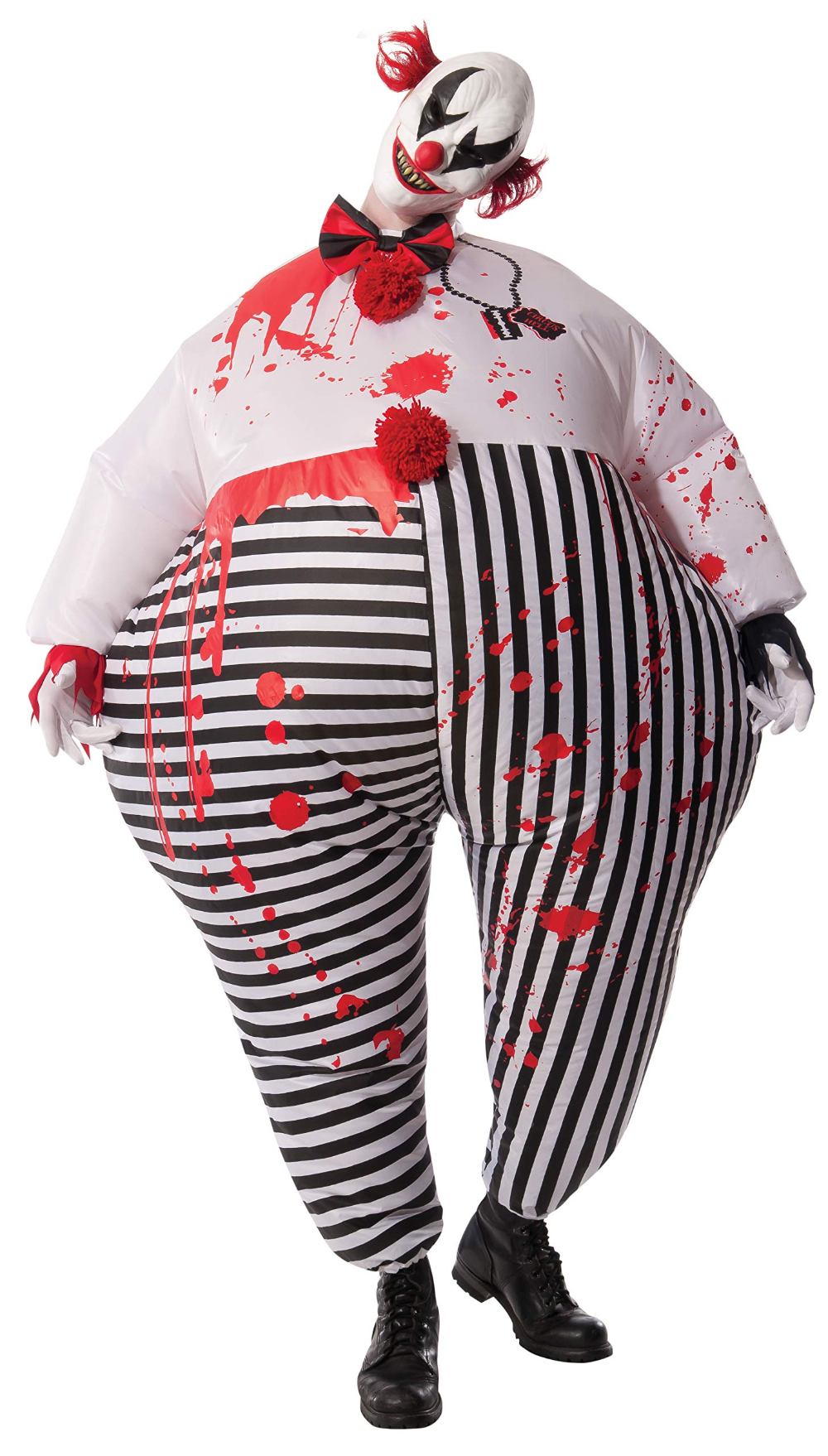 Costume Co Men S Inflatable Evil Clown Costume Shopinzar Com Scary Clown Costume Clown Halloween Costumes Clown Costume