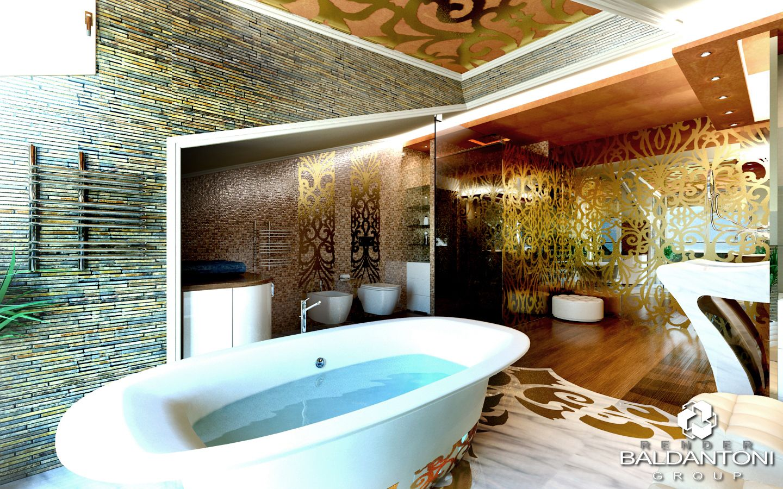 Art decò. Un clima romantico e sognante. Una caratteristica che possiamo ritrovare non solo nel soggiorno ma ad esempio anche nella zona bagno. Leggi l'articolo completo su: http://www.baldantonigroup.com/chi-siamo/blog-home/8-blog/285-nuovi-trends-la-primavera-e-il-design