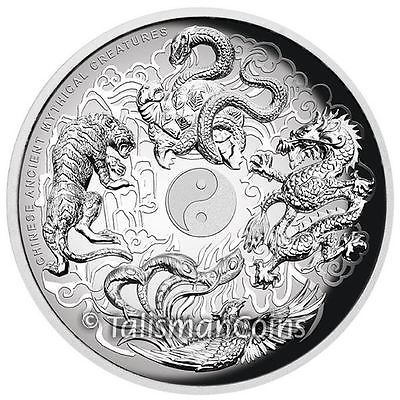 Details About 2015 Tuvalu Chinese Mythical Creatures 5 5 Oz