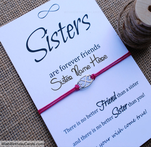 Free Greetings Birthday Cards For Sister With Name