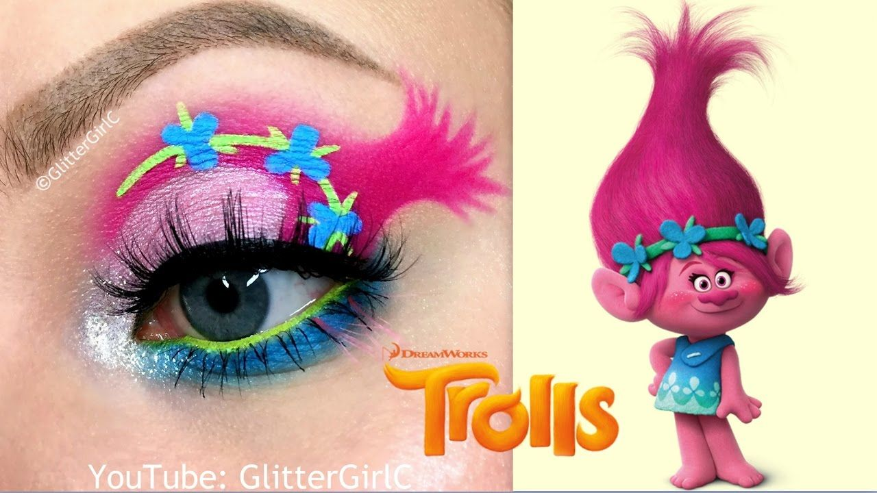 Trolls poppy makeup tutorial makeup weekly pinterest makeup trolls poppy makeup tutorial baditri Choice Image