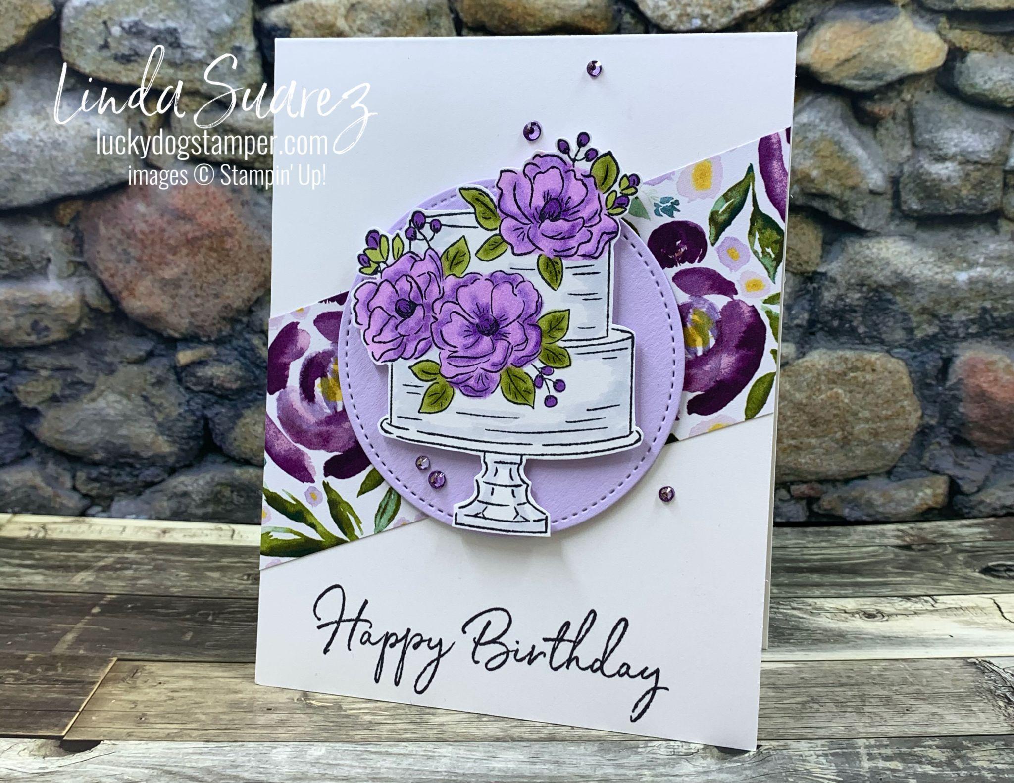 Happy Birthday to You! Lucky Dog Stamper Poppy cards