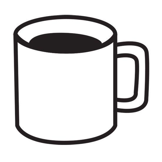 Design Stamp - Coffee Cup 6mm | Starbucks classroom ...