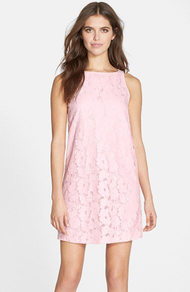 BB Dakota BB Dakota 'Savvanah' Lace Shift Dress (Nordstrom Exclusive) available at #Nordstrom