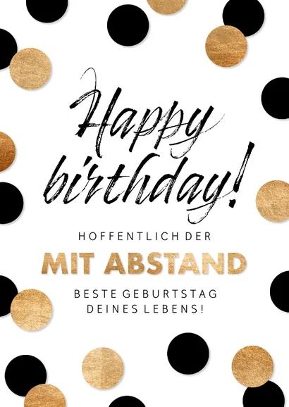 Geburtstagskarte Mit Abstand Bester Geburtstag Spruche Zum Geburtstag Gluckwunsche Zum Geburtstag Frau Gluckwunschkarte Geburtstag