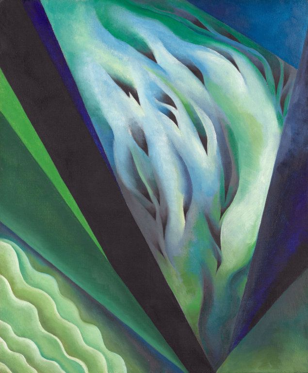 Georgia O'Keeffe American, 1887-1986, Blue and Green Music