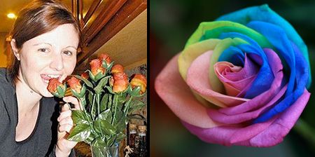 Beautiful and Unusual Roses - some are made from really unusual things... like steak!