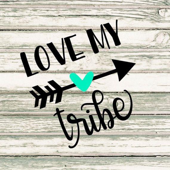 Download Love My Tribe SVG   My love