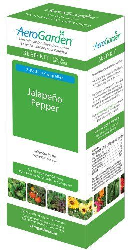 Aerogarden Jalapeno Pepper Seed Kit 3 Pod By Aerogrow 400 x 300