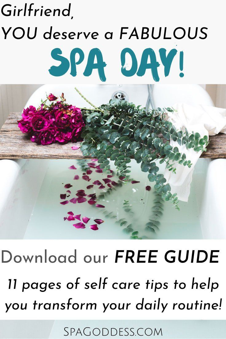 The Ultimate Spa Day Ritual Guide - Free Download
