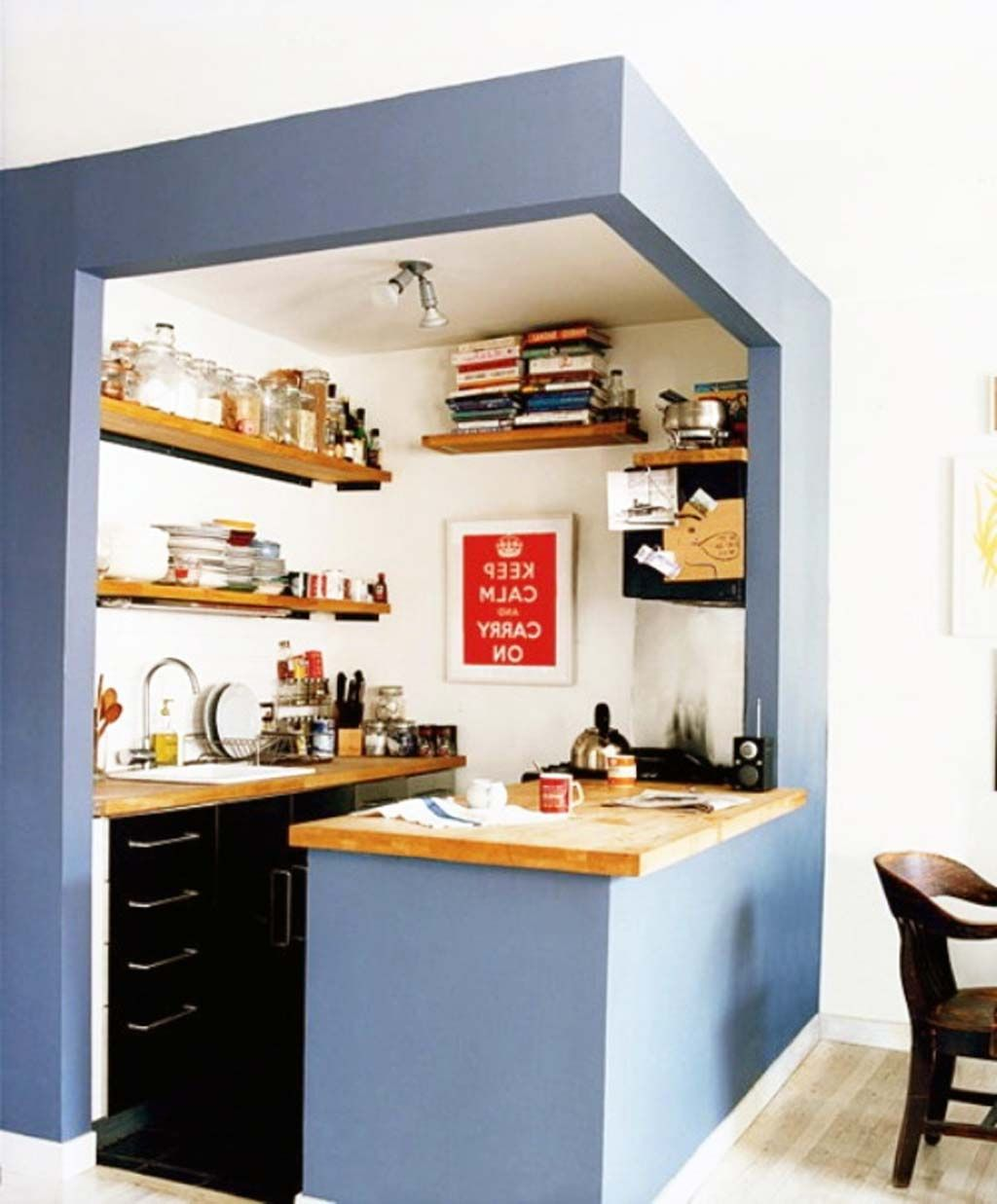 Desain Dapur Kecil Dan Cantik Check More At Http Desainrumahkita