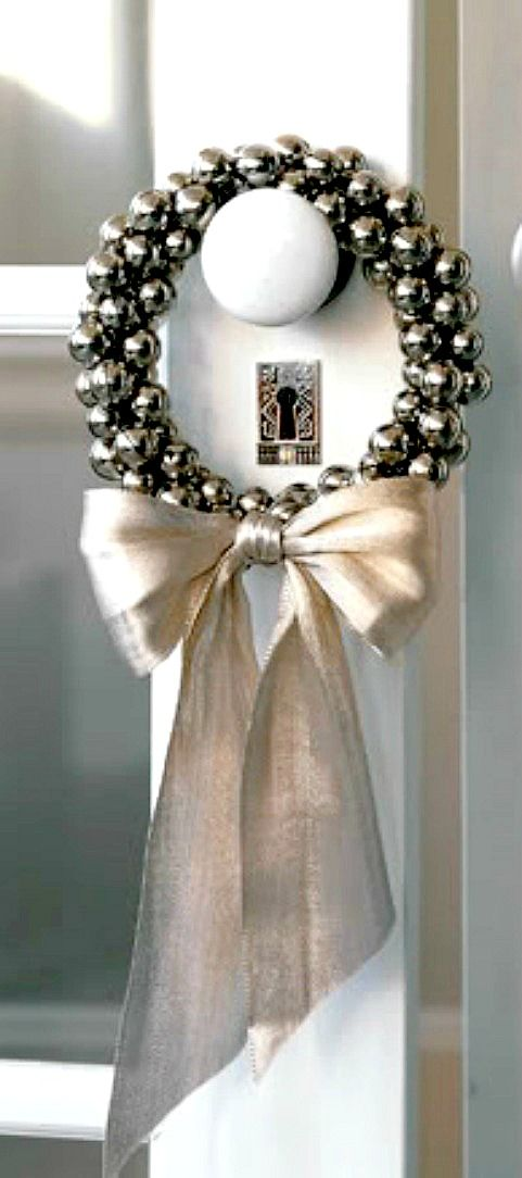 DIY Jingle Bell Ring   Martha Stewart #Christmas #NailArt #ChristmasNails #christmasdecor #christmasdecorating #xmas #merrychristmas #happychristmas #holiday #holidayplanning #holidaydecor www.gmichaelsalon... #holidaybaking #christmasbaking #christmasrecipes