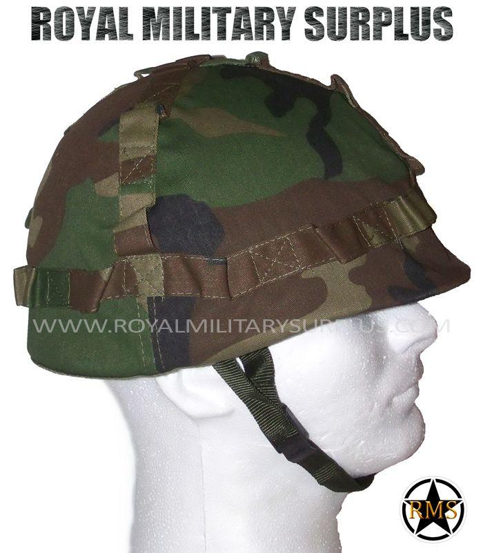3e5b6a3bd1b Helmet - M1 (US Army) - US WOODLAND (M81 Pattern)