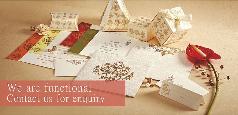 Indian Wedding Invitation Card Malaysia