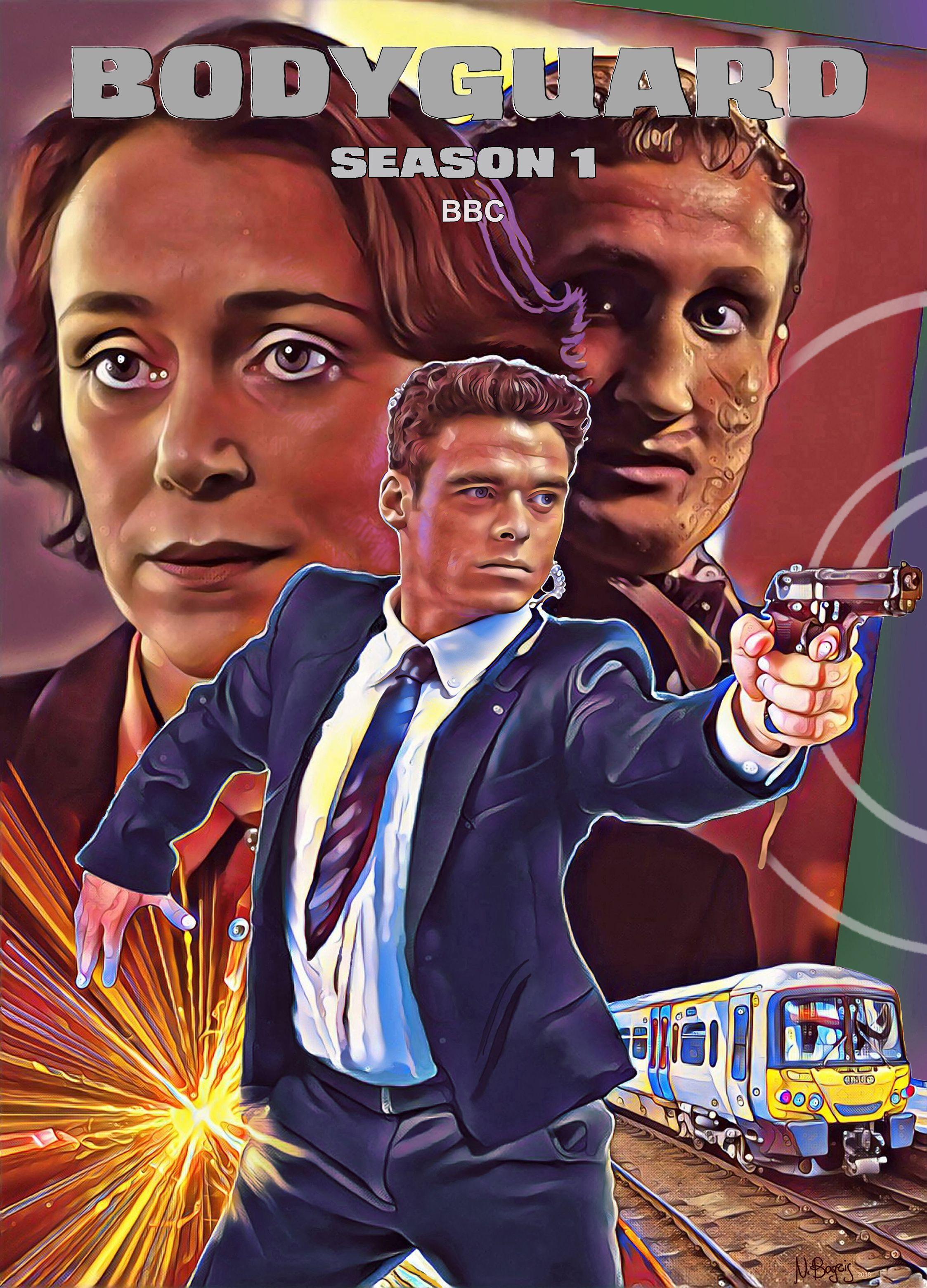 Bodyguard ( UK 2018) Bodyguard, Poster, Tv series