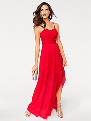 Ashley Brooke by heine - Abendkleid rot im heine Online-Shop ...