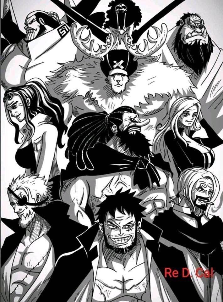 One Piece: Băng Mũ Rơm khi già đi trông sẽ như thế nào, câu trả lời tham khảo đã có rồi đây - Ảnh 2.