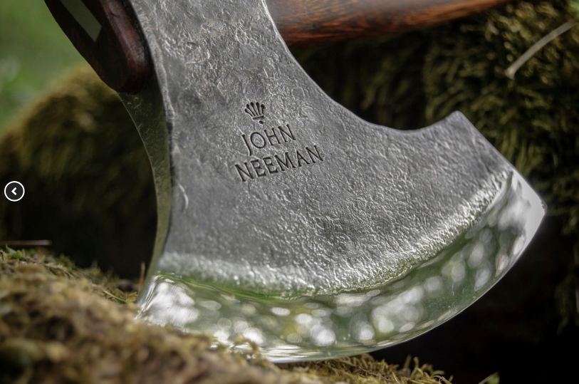 "John Neeman Carving Axe ""Robin Wood"""