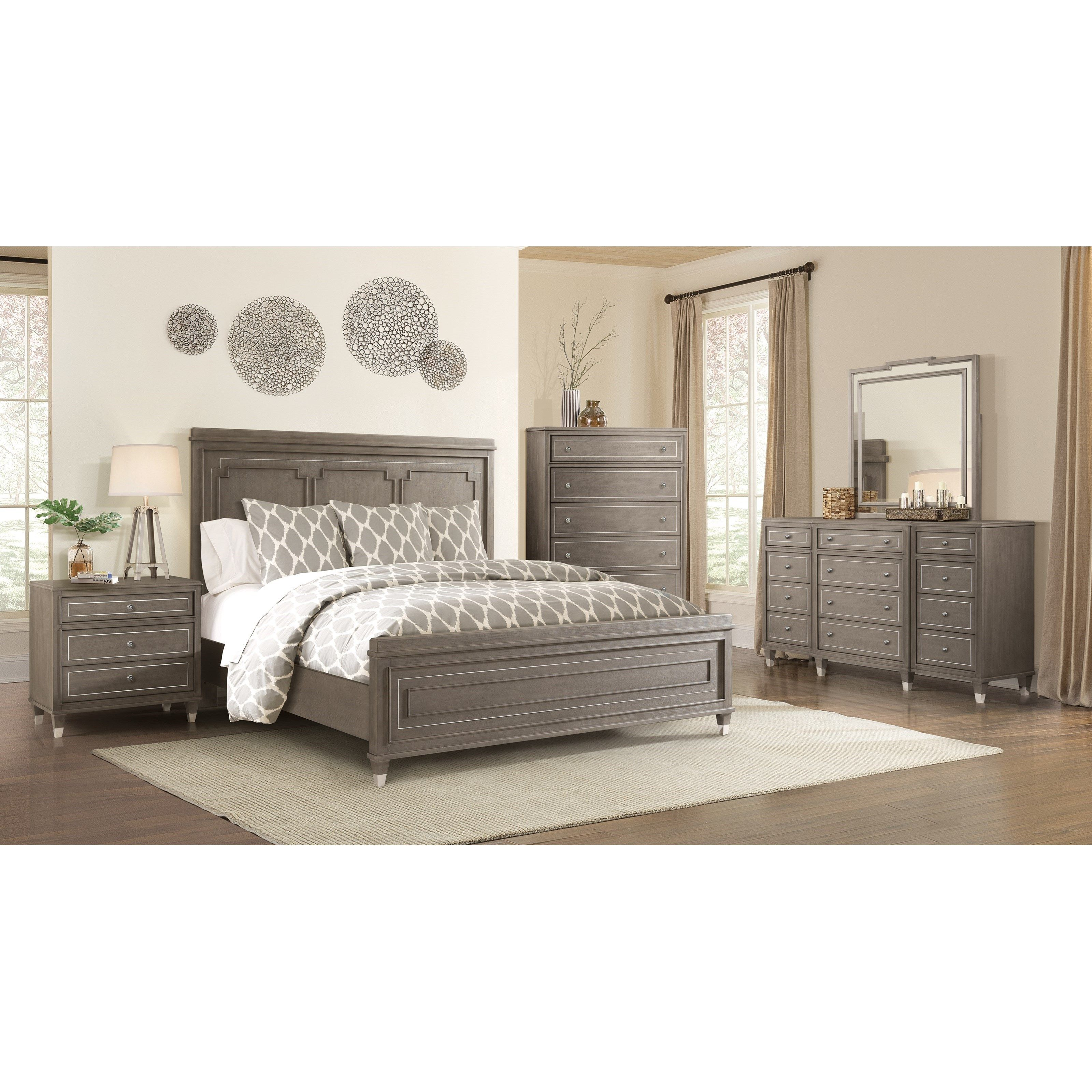 gallery belmeade furniture upholstered youtube bedroom home riverside bed sleigh by stores watch